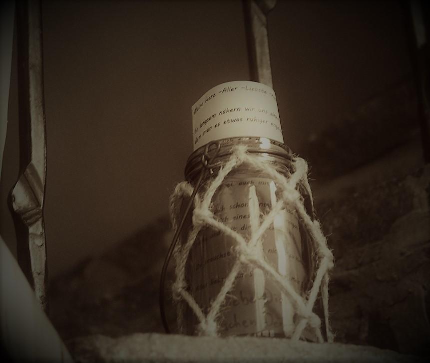 LiteRatur - Flaschenpost-Liebe
