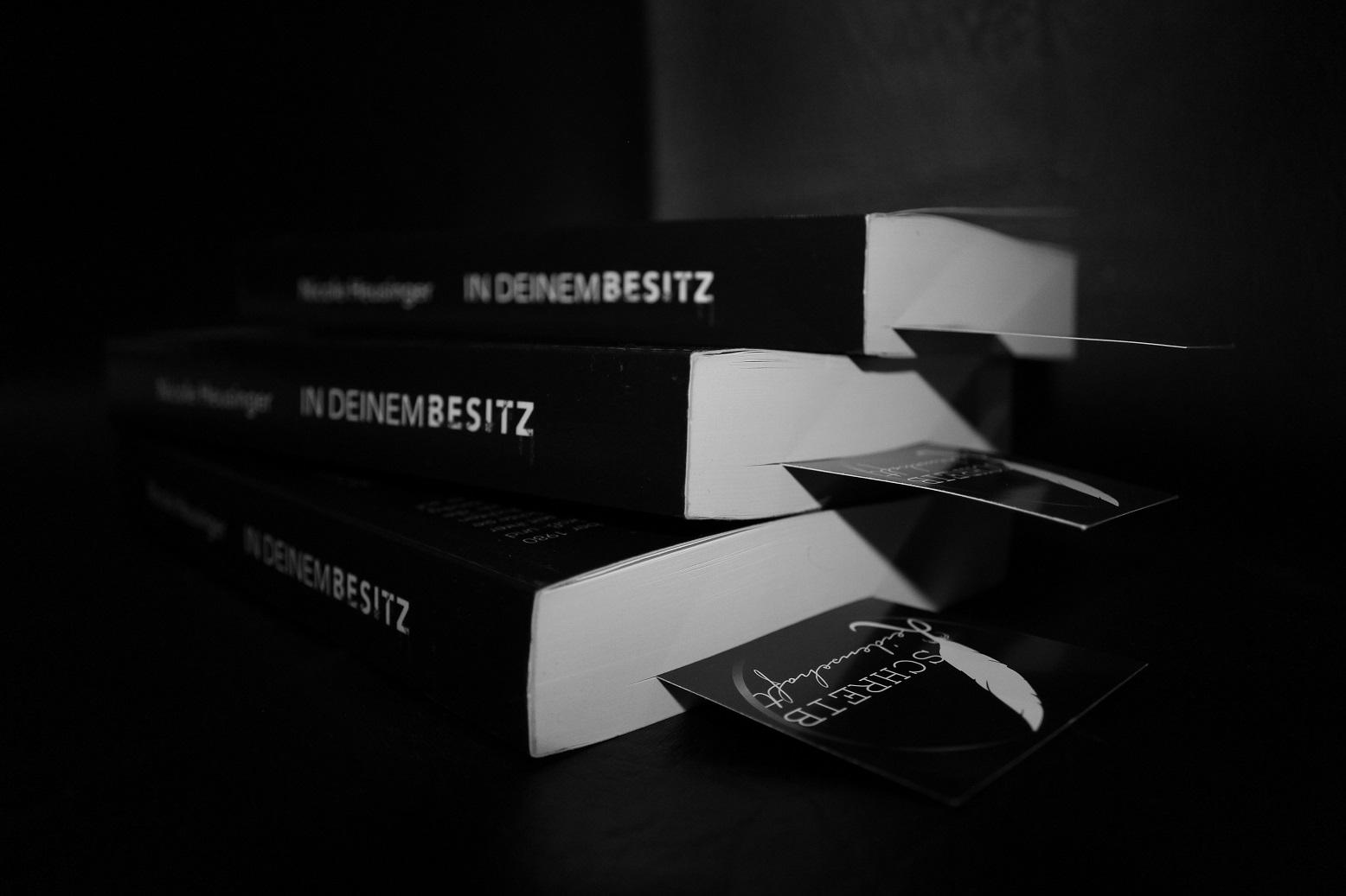 Das Interview - Buchstapel